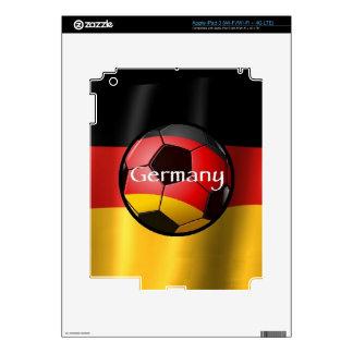 Germany Soccer iPad 3 Skin