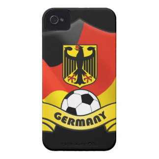 Germany Soccer iPhone 4/4S Case-Mate Barely There iPhone 4 Case