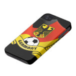Germany Soccer iPhone 4 ID Case-Mate iPhone 4 Cases