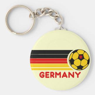 Germany Soccer Keychain