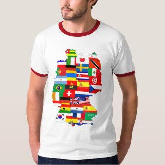 Germany Soccer Map 2006 T-Shirt