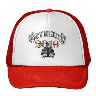 Germany Soccer Mesh Hats