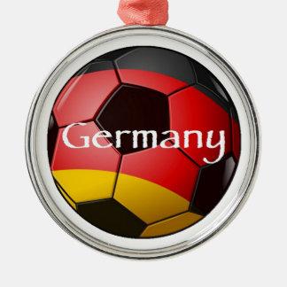 Germany Soccer Metal Ornament