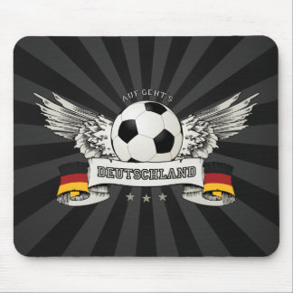 Germany Soccer National Team Supporter mousepad