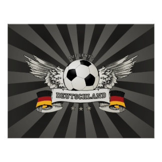 Germany Soccer National Team Supporter poster