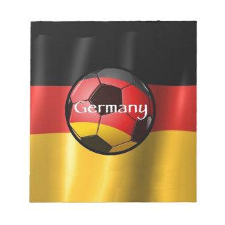 Germany Soccer Notepad