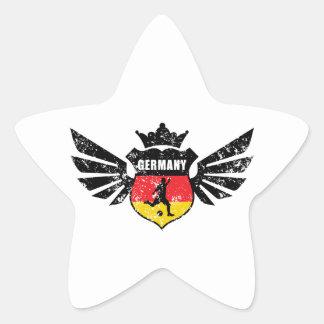 Germany soccer star sticker
