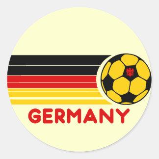 Germany Soccer Sticker