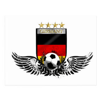 Germany soccer world champions 2014 Weltmeister Post Card