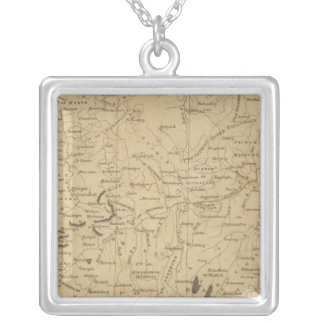 Germany south square pendant necklace