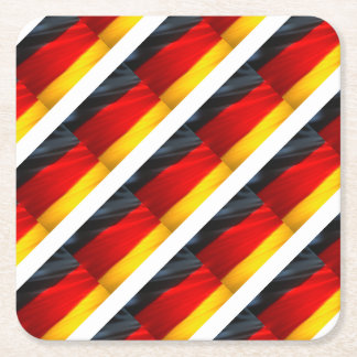 GERMANY SQUARE PAPER COASTER