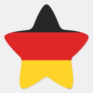 GERMANY STAR STICKER
