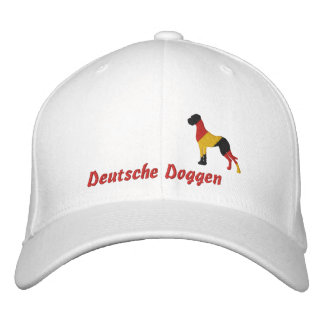 Germany stick Dogge, German Doggen Embroidered Baseball Hat