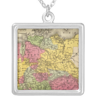 Germany, Switzerland, and Northern Italy Silver Plated Necklace