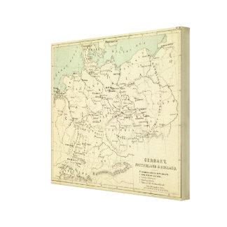 Germany, Switzerland, Holland Canvas Print
