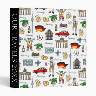 Germany | Symbols Pattern Binder