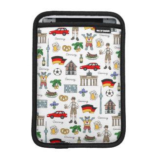 Germany | Symbols Pattern Sleeve For iPad Mini