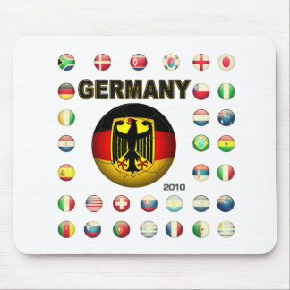 Germany T-Shirt d7 Mouse Pad