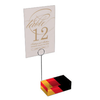 GERMANY TABLE CARD HOLDER