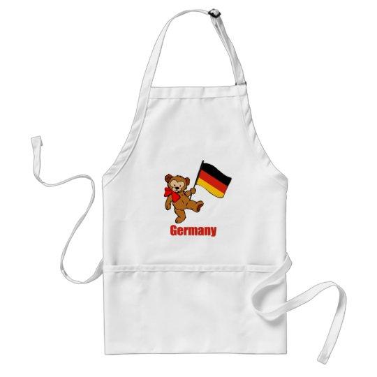 Germany Teddy Bear Adult Apron