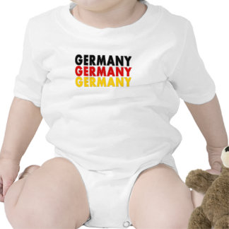 Germany Tri-Color  Infant Creeper