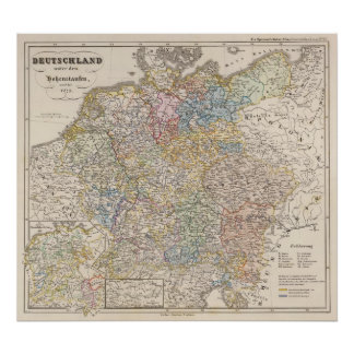 Germany under the Hohenstaufen, and up to 1275 Poster