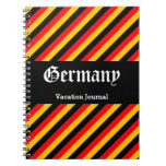 [ Thumbnail: Germany Vacation Journal Notebook ]