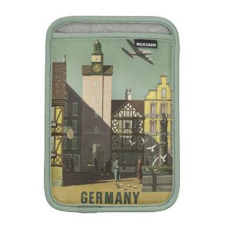 GERMANY Vintage Travel device sleeves iPad Mini Sleeve