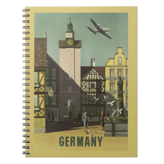 GERMANY Vintage Travel notebook