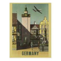 GERMANY Vintage Travel postcard