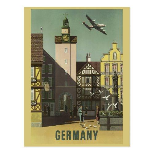 GERMANY Vintage Travel postcard