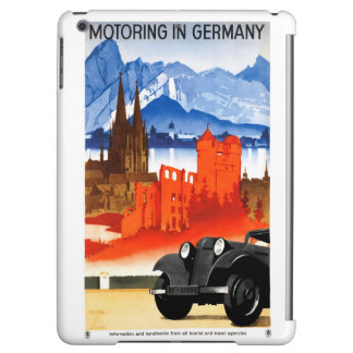 Germany Vintage Travel Poster Restored Case For iPad Air