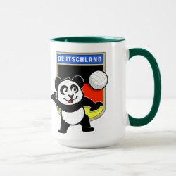 Combo Mug with German Volleyball Panda design