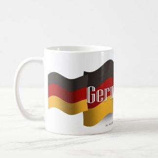 Germany Waving Flag Coffee Mug