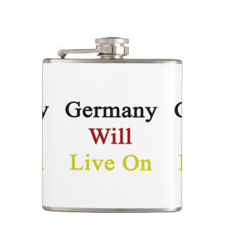 Germany Will Live On Flask