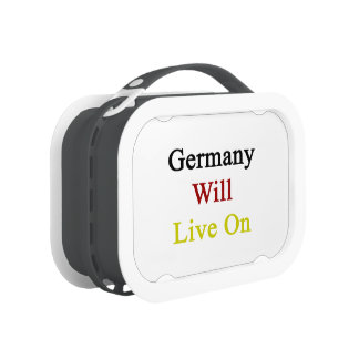 Germany Will Live On Lunchbox
