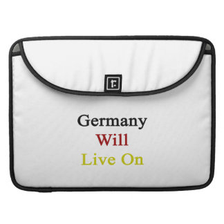 Germany Will Live On Sleeves For MacBook Pro