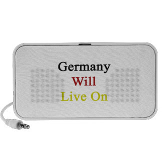 Germany Will Live On Speakers