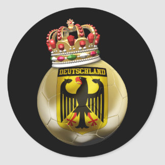 Germany World Champion Classic Round Sticker