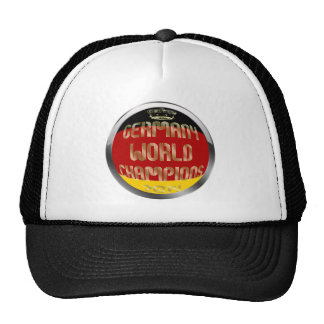 Germany World Champions 2014 Soccer Hat