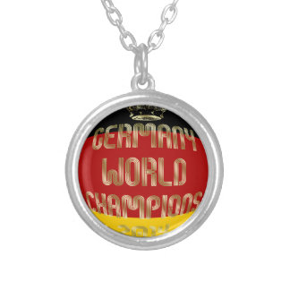 Germany World Champions 2014 Soccer Necklaces