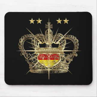 Germany World Champions 4 star German Flag Mouse Pad