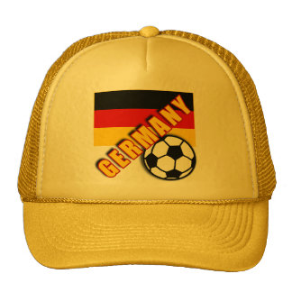 GERMANY World Soccer Fan Tshirts Trucker Hat