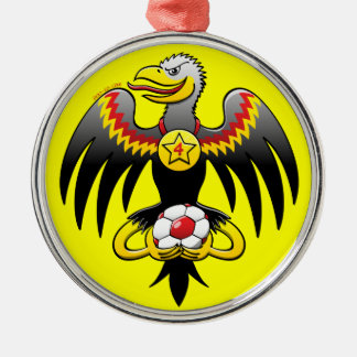 Germany's Eagle Soccer Champion Metal Ornament