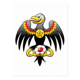 Germany's Eagle Soccer Champion Postcard