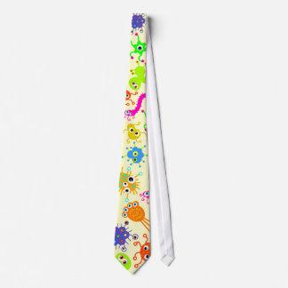 Gérmenes coloridos corbatas
