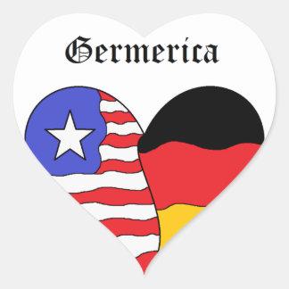 Germerica Heart Stickers