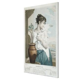 Germinal , seventh month of Republican Calendar Canvas Print