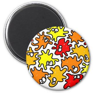 Germs 2 Inch Round Magnet
