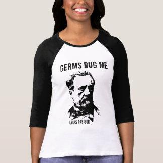 Germs Bug Me T Shirt